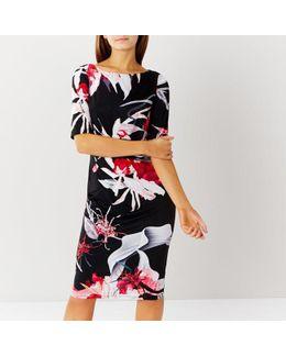 Katsura Print Jersey Dress