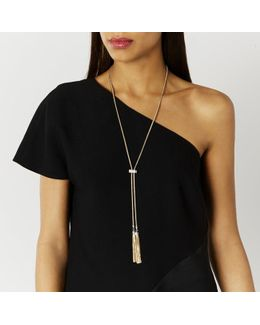 Carmelo Diamante Bar Necklace