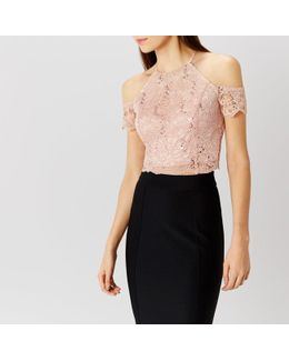 Dominica Lace Prom Top