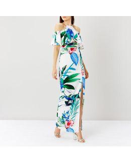 Botanico Print Maxi Dress