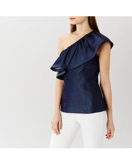 Alana One Shoulder Top