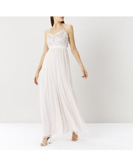 Pip Sequin Strappy Prom Dress