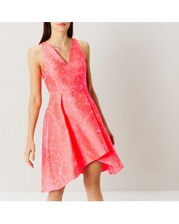 Sylvie Neon Jacquard Dress