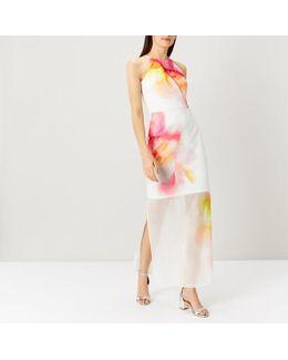 Demores Print Maxi Dress