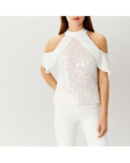 Blair Sequin Top