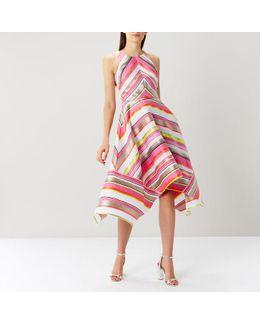 Bossa Nova Stripe Midi Dress