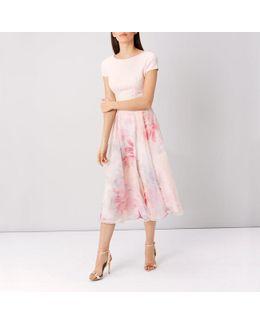 Abbey Print Surana Dress