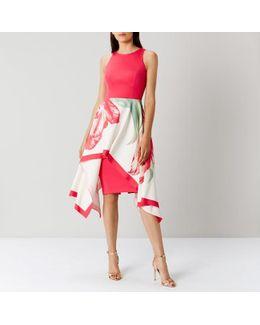 August Floral Print Dress