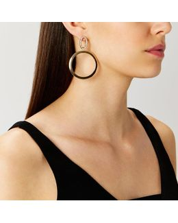 Sena Statement Hoop Earrings