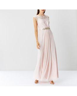 Lori Lee Lace Maxi Dress