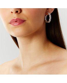 Casey Sparkle Hoop Earrings