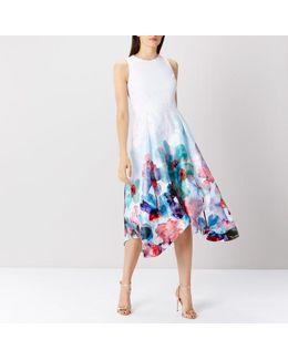 Azure Orsay Midi Dress Sl