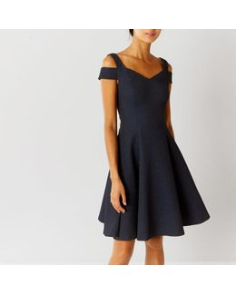 Ava Structured Short Dress