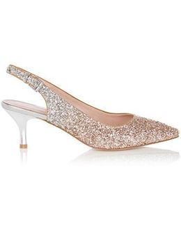 Klya Glitter Pointed Shoes