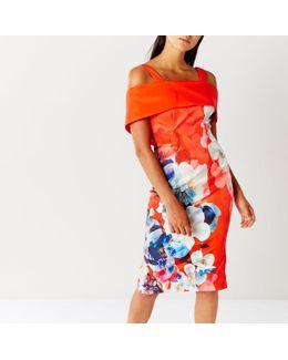 Immo Print Shift Dress