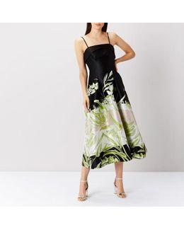 Eda Jacquard Print Dress