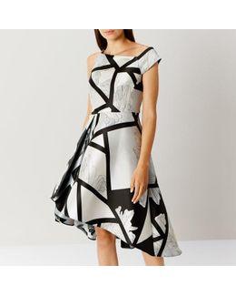 Barton Print Full Midi Dress