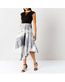 Grovetta Organza Midi Dress