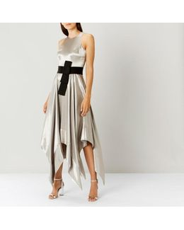 Elvie Metallic Maxi Dress