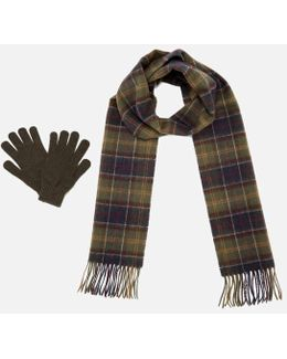 Men's Scarf And Glove Gift Box
