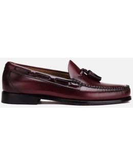 Men's Larkin Moc Leather Tassel Loafers