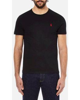Men's Short Sleeved Crew Neck Tshirt
