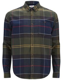 Heritage Men's Johnny Tartan Long Sleeve Shirt