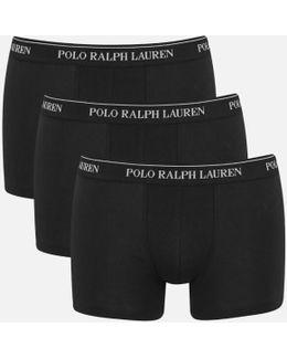 Men's 3 Pack Trunk Boxer Shorts