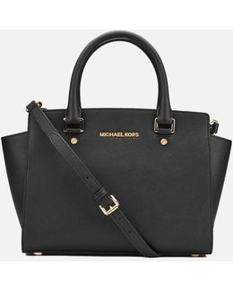 Women's Selma Medium Top Zip Satchel