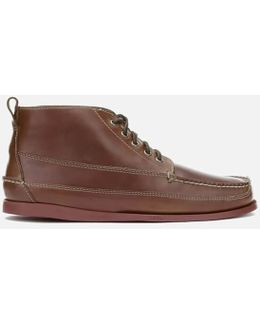 G.h. Bass & Co. Men's Camp Moc Ranger Pull Up Leather Boots