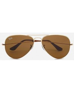 Rayban Aviator Large Sunglasses 58mm