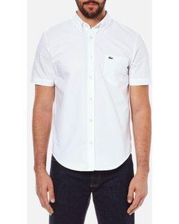 Men's Short Sleeve Casual Shirt