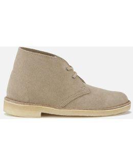 Women's Suede Desert Boots