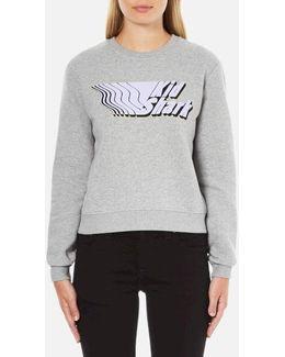 Women's Kid Shark Sweatshirt