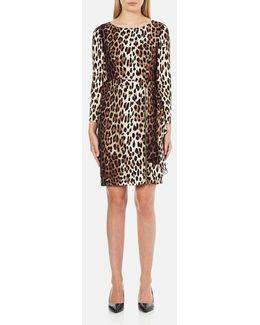 Women's Zip Pleat Dress