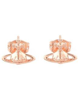 Roseta Earrings Pink Gold/pink