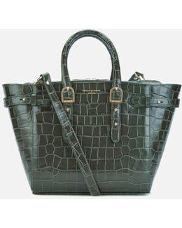 Women's Marylebone Medium Croc Tote Bag