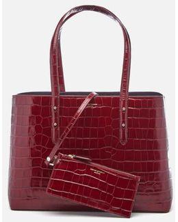Women's Regent Croc Tote Bag