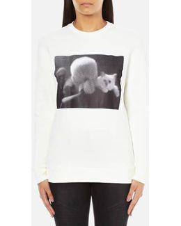 Women's Karl & Choupette Sweatshirt
