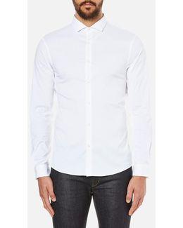 Men's Slim Long Sleeve Shirt