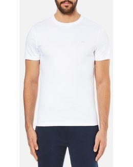 Men's Sleek Mk Crew Neck Tshirt