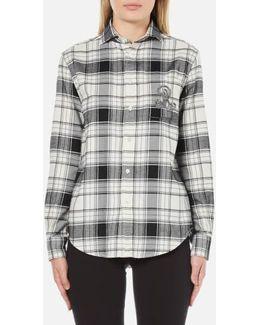 Women's Sequin Crest Shirt