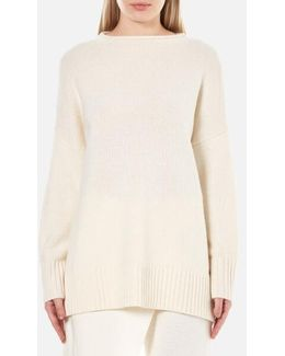 Women's Boxy Long Sleeve Jumper