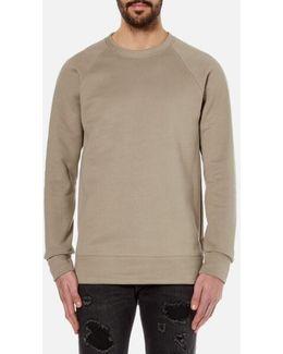 Men's Oversized Crew Neck Sweatshirt
