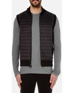Men's Padded Front Vest