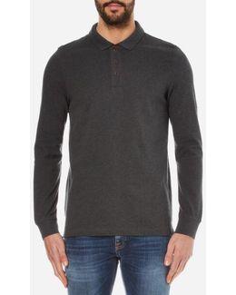 Men's International Root Long Sleeve Polo Shirt