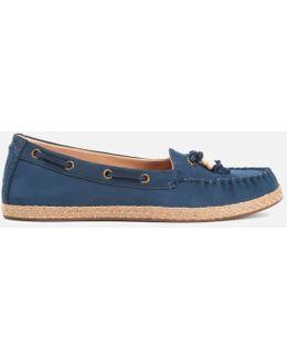 Women's Suzette Nubuck Moccasin Shoes
