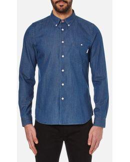 Men's Tailored Long Sleeve Shirt