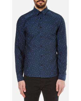 Men's Charms Tonal Jacquard Shirt