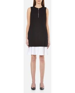 Women's Matt And Shine Layer Dress